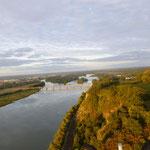 la Loire en paramoteur