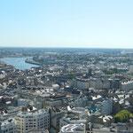 Nantes du haut de la Tour de Bretagne