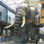 Le Voyage à Nantes 2012 machines de l'île : L'éléphant