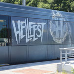 Train du Hellfest à la gare de la Haie fouassiere