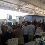 Lula da Silva Ex presidente de Brasil en la Feria. 1