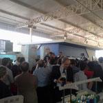 Lula da Silva Ex presidente de Brasil en la Feria.