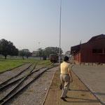 Vía de l tren de La Rodoviaria