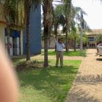 Sr Jacinto jacome en el recinto de la organizacion
