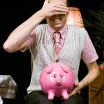 Herr Hermann und Edith, das hungrige Sparschwein - Foto: Peter Litvai