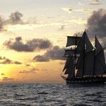 La Boudeuse in navigazione. Credit: sito ufficiale