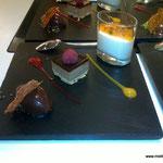 Variation von der Valrhona Schokolade - im KochWerk
