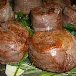Rinderfilet im Parmaschinkenmantel