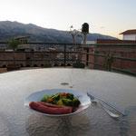 Nachtessen in Huaraz