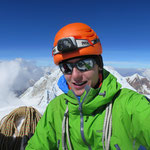 Auf dem Gipfel des Alpamayo, und das alleine...!!!