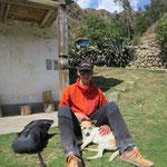 Ein tierischer Freund in Cashapampa :)