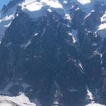 Aig. du Midi Nordwand - der Jumeaux Pfeiler