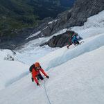 Gletscherspalte...
