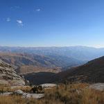 Blick auf Huaraz