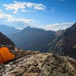 Highcamp Nev. Rasac - Cordillera Huayhuash, Peru.
