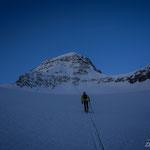 Skitour aufs Tschnigelhorn. Foto: D. Göldi