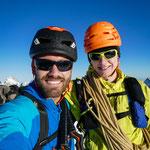 Eiger Gipfel. Foto: D. Göldi