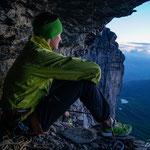 Biwak in der Eiger N-Wand. Foto: D. Göldi