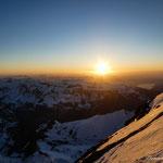 Abstieg vom Eiger. Foto: D. Göldi