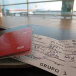 Airport Lima - nun geht's schon zurück...