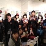 PosCo終了時の記念写真 (hysk、kanicoco、Nattsu、めじろいろ、Naoya Yoshizawa、Kobayashi Hiromi、WISH、Kaz、kanon、千優、mei)