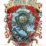 My Morning Jacket gig poster by Jason Brammer