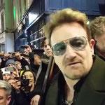 Bono + Hozier + Kodaline + The Script + Glen Hansard + Imelda May + Ronan Keating + The Coronas + Mundy…. Live at Grafton Street, Dublin