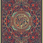 Built To Spill gig poster by Matthew Decker