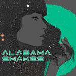 Alabama Shakes gig poster by Scott Ortner