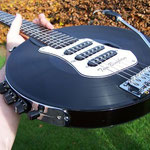Vinyl-Record Guitar by Tom Bingham