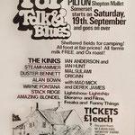 First Glastonbury festival, 19th September 1970