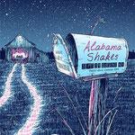 Alabama Shakes gig poster by  Barry Blankenship