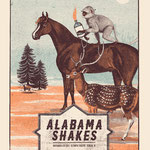 Alabama Shakes gig posters by Error Design