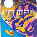 Tame Impala gig poster by Scott Duffney