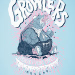 The Growlers + Broncho poster by Michael Miller