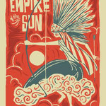 Empire Of The Sun gig poster by Furturtle Printworks