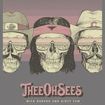 Thee Oh Sees gig poster by Andrew Hoffman