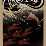 Graveyard gig poster by Charles Degeyter