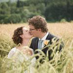 Hochzeitsfotograf aus Luzern - Im Kornfeld