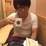 ⑲「日曜日の昼は一緒にカフェに」シティホテル3号室押田