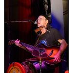 Philippe Ménard (One Man Band) à l'Eden District Blues à Oraison 04