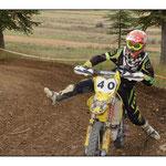 Moto sur le circuit de Prefaissal 2013