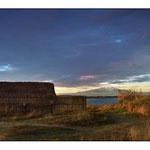 Cabane de pécheurs à l'étang de Canet plage
