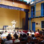 15 de julio de 2014. Escuela de Música de Cusco, Perú. Charla sobre Géneros del Folklore Argentino.