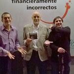 De izquierda a derecha: Diego Martín Castro, Marcelo Coronel, Mario de Goycoechea. Córdoba.