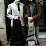 18 de julio de 2014. Cusco, Perú. Rumbo al concierto en el ICPNAC, con Mariano Coronel.