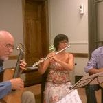 Presentación en Colegio de Veterinarios de Rosario, con María Amalia Maritano y Daniel Mariatti.