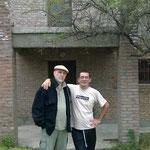 Con Diego Martín Castro, en su casa de Talar de Mendiolaza (Córdoba)