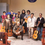 Seminario sobre música argentina en la Escuela de Música de Cuzco, Perú.