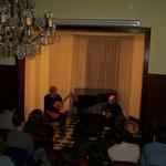 Concierto con David Caswell. Escuela Municipal de Música de Rosario. 2002.